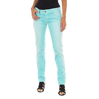MET pantalones de mujer X-Bidys azul claro