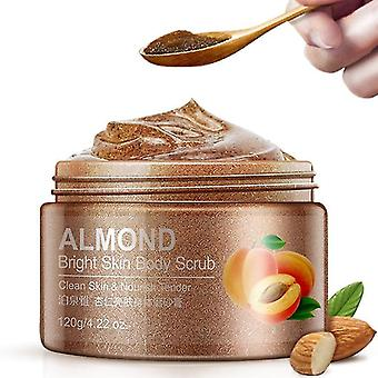 new almond natural hydration and exfoliating body scrub for deep cleansing smooth and sm32553