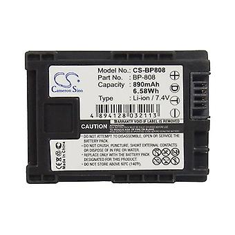 Cameron Sino Bp808 Battery Replacement For Canon Camera