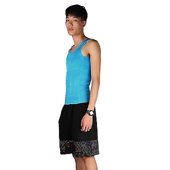 Mænds slankende Vest Top Slim Shirt Bryst Mave Control Body Shapers S-xxl