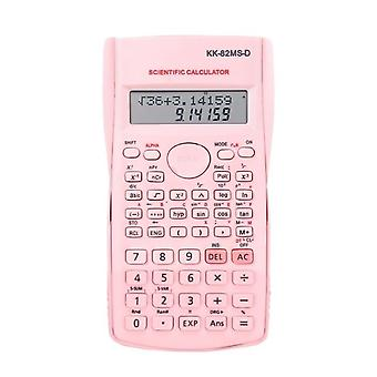 Engineering Scientific Calculator, Suitable For School And Business Accessoires Supplies(pink)