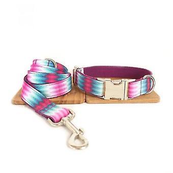 Mønster hund krage fargebånd trekkraft sett
