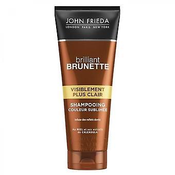 John Frieda synligt lettere brilliant brunette shampoo - 250 ml