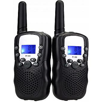 Walkie Talkies, Kids 22ch Walkie Talkies For Kids Toys With Belt Clip And Flashlight, Birthday Gifts To Outdoor Camping Hiking (blue, 2 Pack)