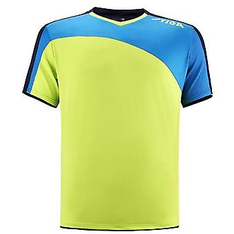 Voetbal uniformen tafeltennis kampioen shirt snelle droge sporten korte mouw shirts