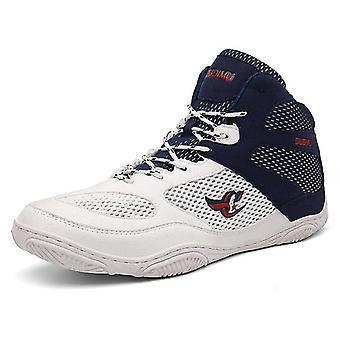 גברים מקצועיים היאבקות / אגרוף נעליים לנשימה