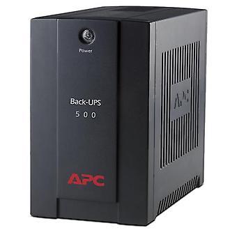 APC Back-UPS, Line Interactive, 0,5 kVA, 300 W, Sinus, 160 V, 280 V