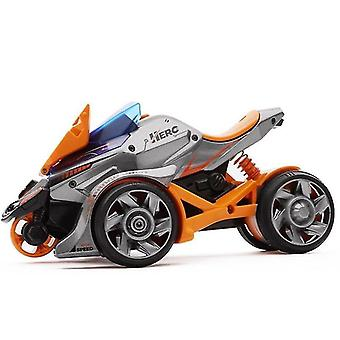Toy cars orange catapult alloy motorcycle toy pull back car model