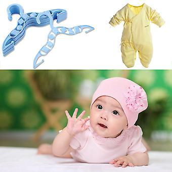 40 X Kids Vauvan muovitakki Vaatteet Vaatehousut Henkarit Sininen Kestävä