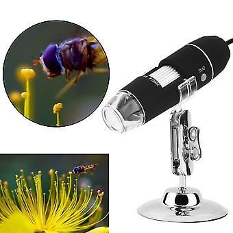8 Led 1000x Usb digitálny mikroskop Endoscope Zväčšovacie sklo Stojan na videokameru