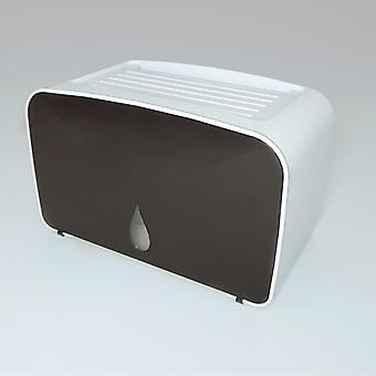 Wodoodporny uchwyt na papier toaletowy, wielofunkcyjne pudełko do przechowywania, plastikowe pudełko na chusteczki ścienne, przenośny uchwyt na papier toaletowy