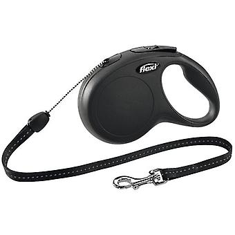 Flexi Strap New Classic Cord Black (Dogs , Collars, Leads and Harnesses , Leads)