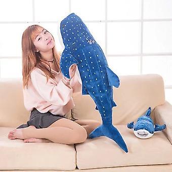 Blue Whale Marine Animal Plush Toy Doll