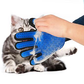 Guantes de aseo para gatos, mitones de depilación, pelo de perro, cepillo de depilación de mascotas, peine de masaje de limpieza, adecuado para cachorros y gatitos