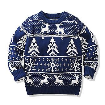 Copii pulover de Crăciun Elk și fulgi de zăpadă Xmas Petrecere Pulover tricou