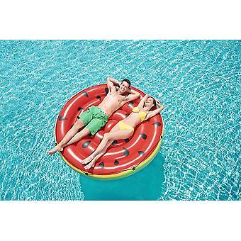 Vannmelon oppblåsbar øy diameter 188 cm