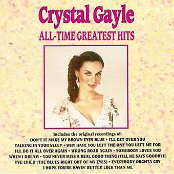 Crystal Gayle - All-Time Greatest Hits [CD] USA import