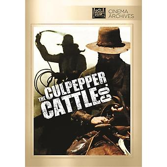 Culpepper nötkreatur Co. [DVD] USA import