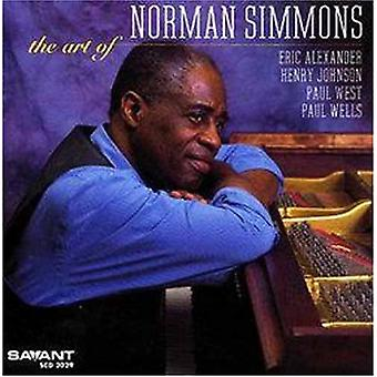 Norman Simmons - Art of Norman Simmons [CD] USA import