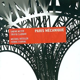 Anderson/Charial/Dole/Francaix/Goraguer/Goyone/Jop - Paris M Canique [CD] USA import
