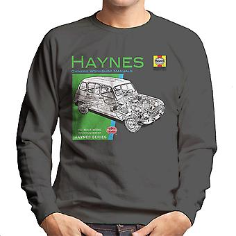 Haynes Owners Workshop Manual 0072 Renault 4 Men's Sweatshirt