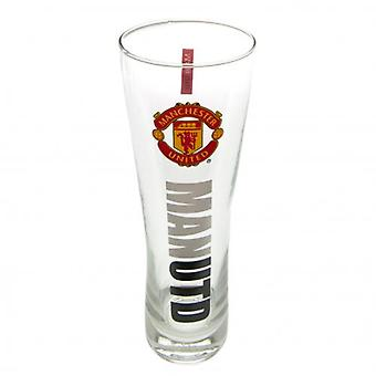 Manchester United Tall Beer Glass