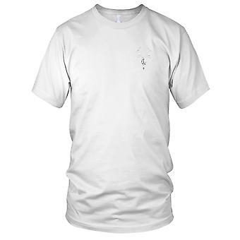 Elg kraniet broderet Patch - damer T Shirt