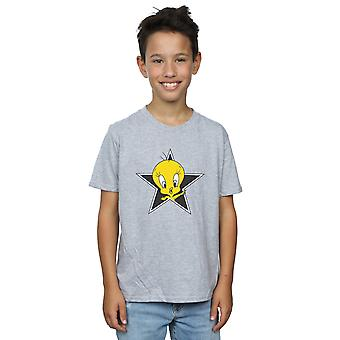 Looney Tunes Tweety Pie Star T-Shirt Boys