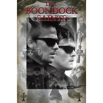 Los Santos del Boondock Collage Poster Poster Print