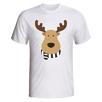 Newcastle Rudolph Supporters T-shirt (white)