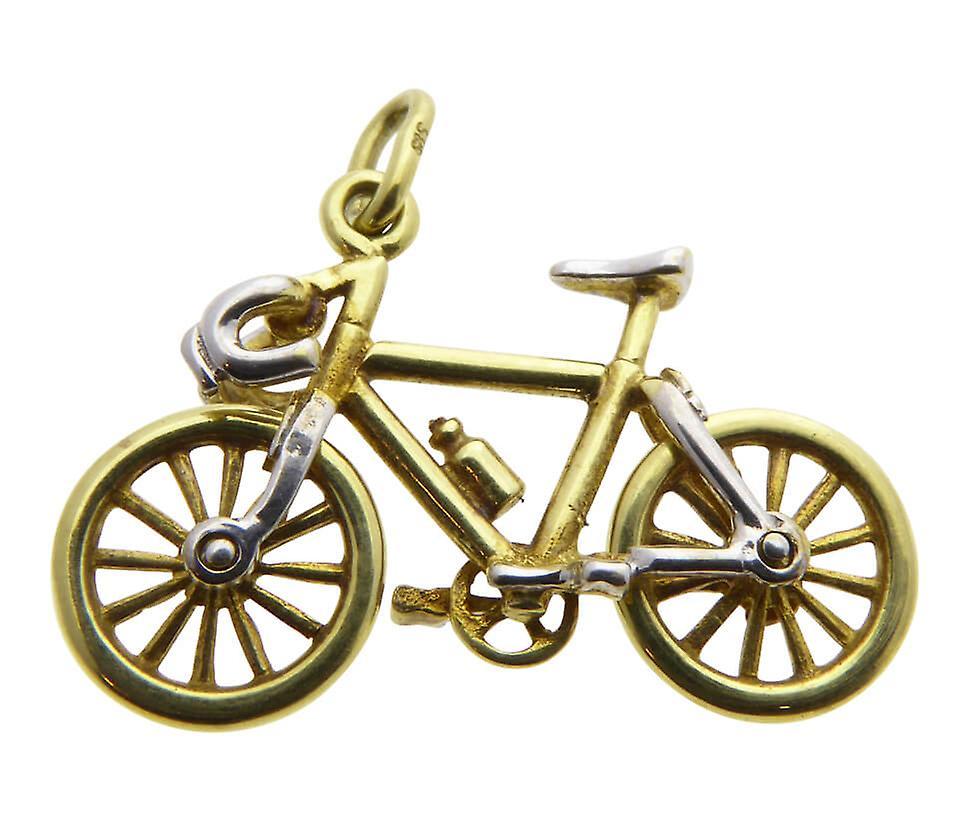 Yellow Gold bike hanger