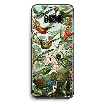 Samsung Galaxy S8 transparentes Gehäuse (Soft) - Haeckel Trochilidae