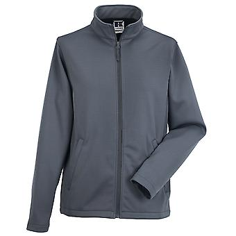 Russell Collection Mens Smart Weather Resistant Full Zip Softshell Jacket