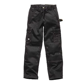 Dickies Mens industry 300 Two Tone Workwear Trousers Black IN30030B