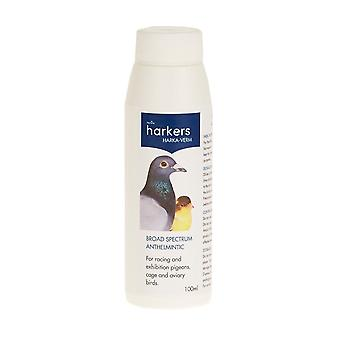 Harkers Harka-Verm Liquid Wormer for pigeons and cage birds 100ml