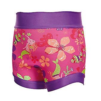 Zoggs Unisex barn Mermaid blomma Swimsure blöja - flera färger