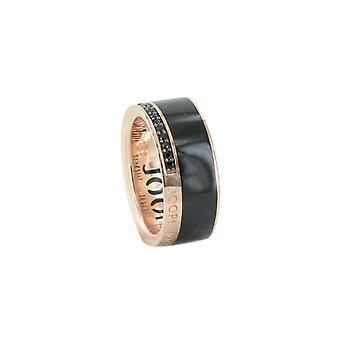 Joop kvinders ring sølv Rosé cubic zirconia JESSICA JPRG90653D