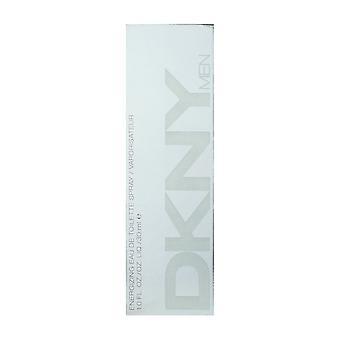 DKNY Men Energizing Eau De Toilette Spray 1,0 Oz/30 ml neu In Box