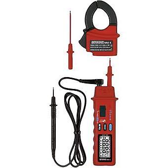 Benning MM 4 Handheld multimeter, Clamp meter Digital CAT II 600 V, CAT III 300 V Display (counts): 4200