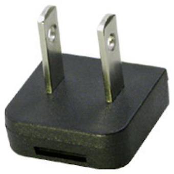 GlobTek Q-NA® Adapter plug Compatible with Globtek
