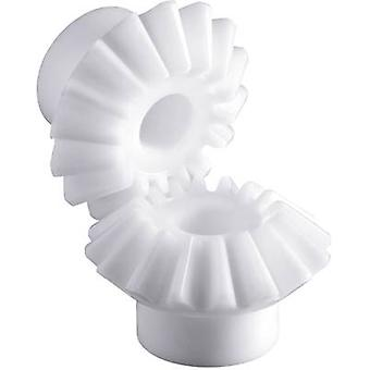 Polyacetal vinkelväxeln hjulet Reely modultyp: 1.0 No. tänder: 30, 30 1 pack