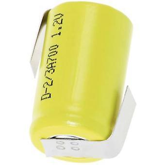 ميكسسيل 2/3 ألف-زلف البطارية غير قياسي (القابلة لإعادة الشحن) 2/3 A Z اللحيم التبويب حوال 1.2 V 670 ماه
