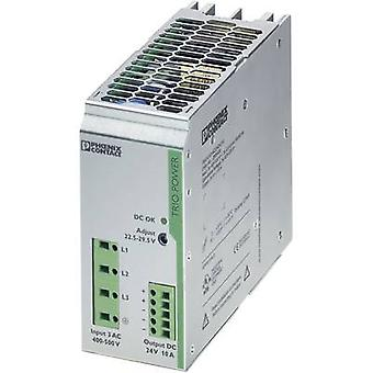 Phoenix contact TRIO-PS/3AC/24DC/10 Rail gemonteerde PSU (DIN) 24 V DC 10 A 240 W 1 x