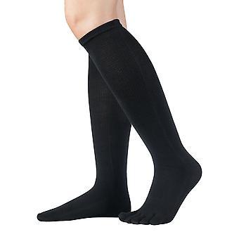 Knitido knee-length socks of essentials, long cotton toe socks