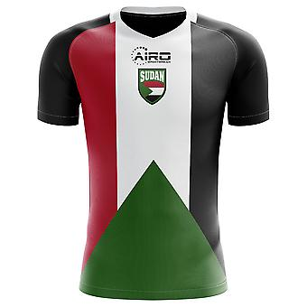 2020-2021 Sudan Home Concept Football Shirt - Kids