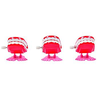 Rasle tænder 12 box Halloween tilbehør legetøj sjove vampyr
