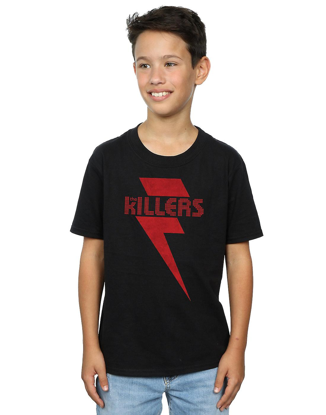 The Killers Boys Red Bolt T-Shirt
