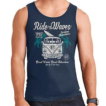 Ride The Waves Camper Van Men's Vest