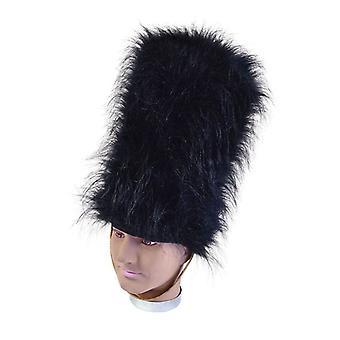 クマの毛皮の帽子。