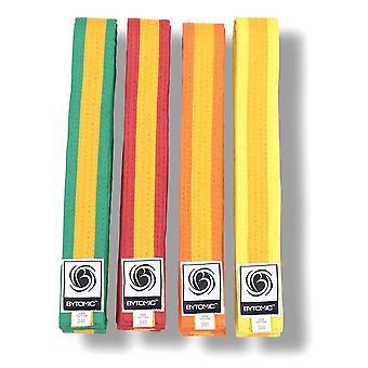 Bytomic guld Stripe kampsport bälte